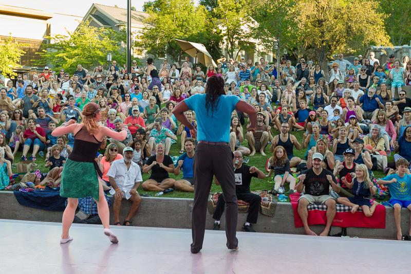 OSF Green Show, Urban Jazz Dance Co.